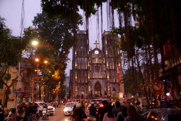 La cathédrale de Ha Noi